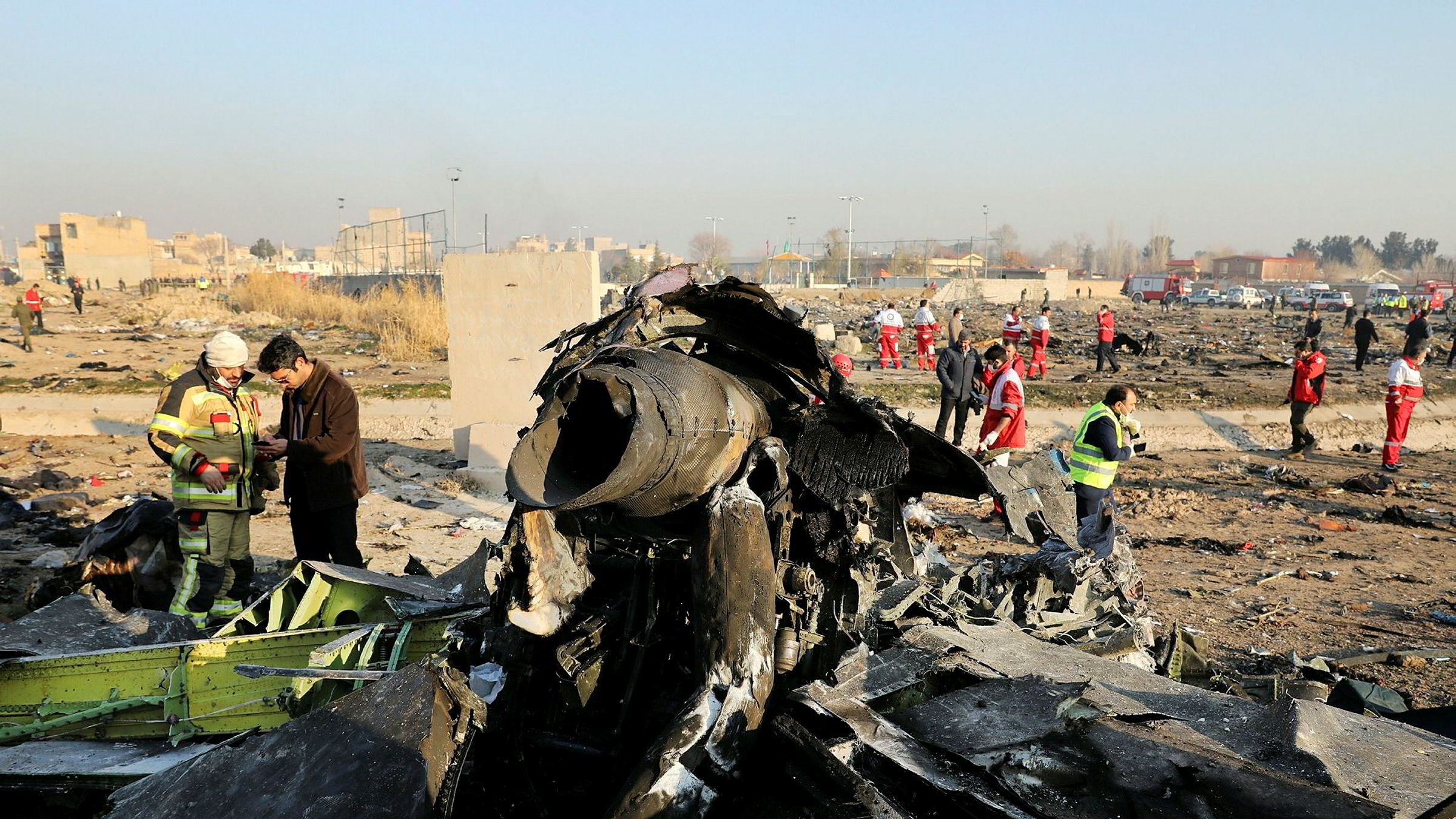 Iran innrømmer nå å ha skutt ned det ukrainske passasjerflyet utenfor Teheran denne uken.