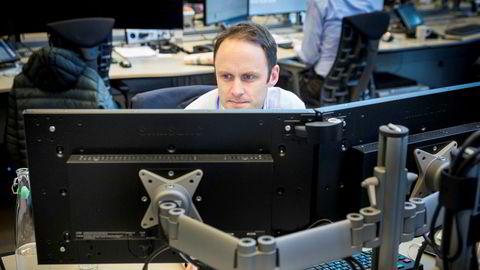 Nær panikk i valutamarkedene i dag, ifølge valutaanalytiker Magne Østnor i DNB.