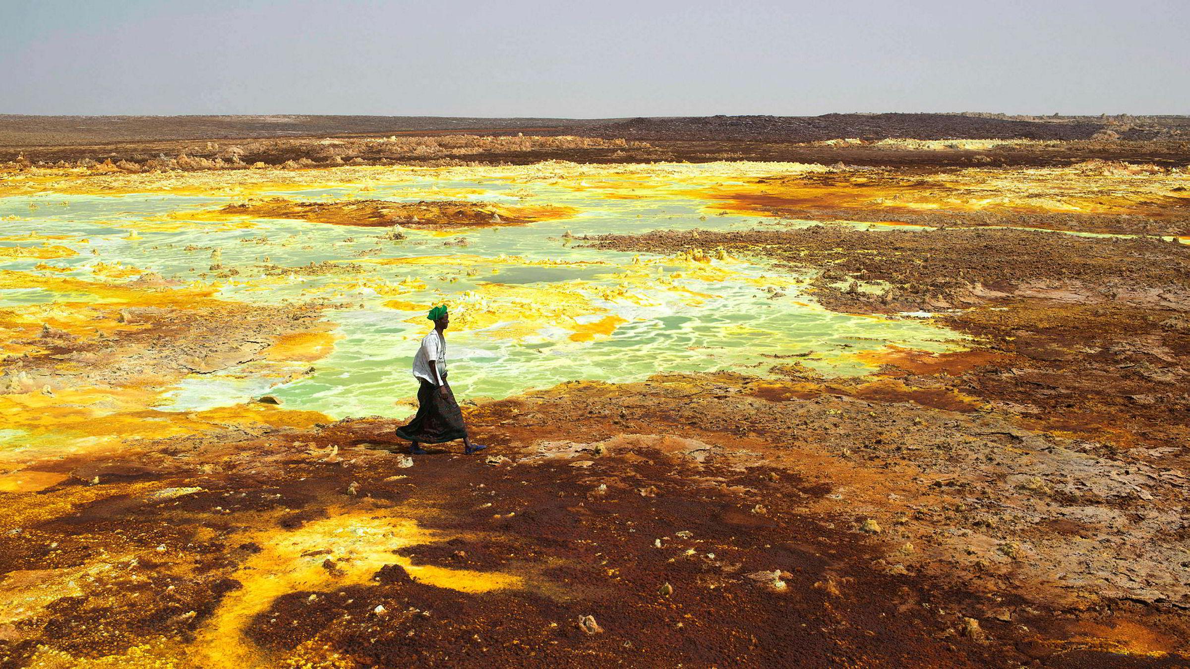 I Afar-regionen helt nord i Etiopia finnes det gigantiske svovel- og mineralsaltformasjoner. I dette området, som ligger på grensen til Eritrea, investerer Yara milliardbeløp i en kaliumgruve. For å sikre seg tilgang på arbeidskraft skal Yara og norske myndigheter også bygge opp en lokal yrkesfagskole.