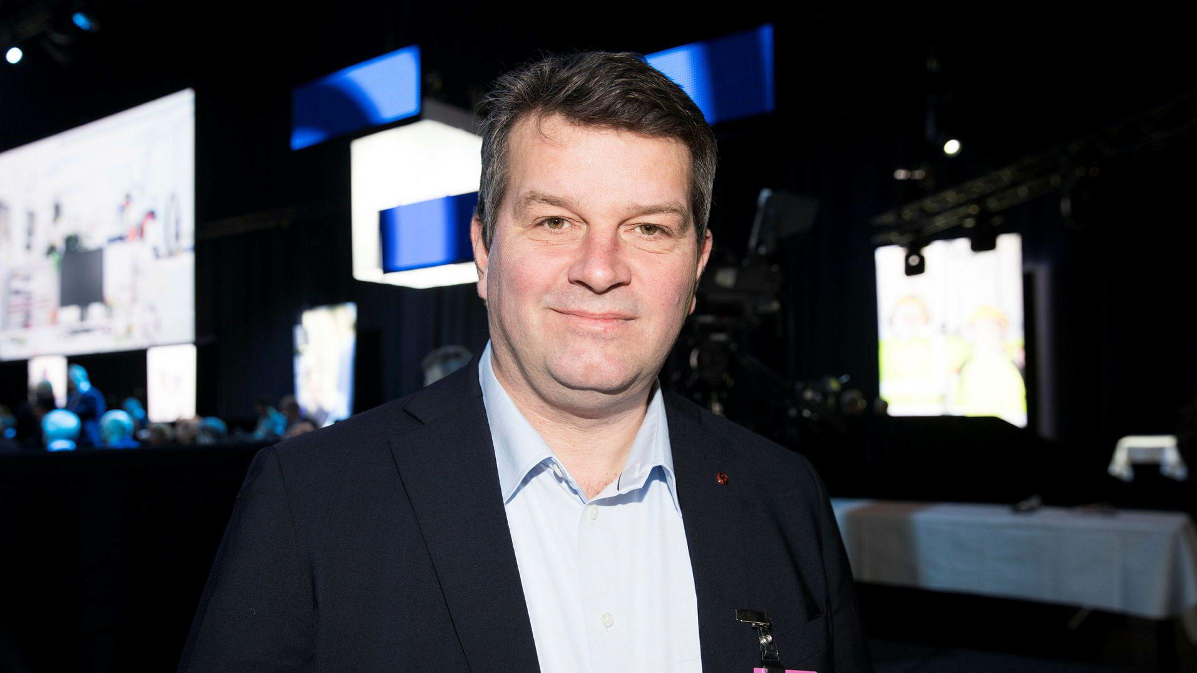 LO-sjef Hans Christian Gabrielsen sier nei til LO.