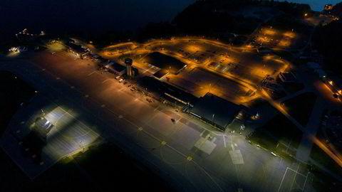 Kristiansand Lufthavn Kjevik var blant stedene som hadde blitt rammet av en streik