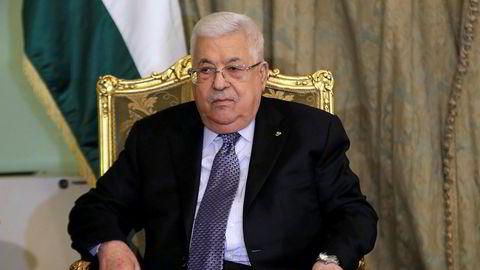 President Mahmoud Abbas sier palestinerne kutter alle bånd til Israel og USA.