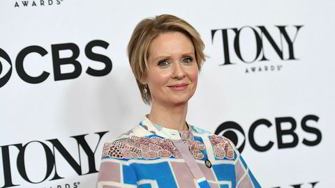 Skuespiller Cynthia Nixon vil bli guvernør i New York.