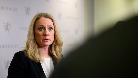 Administrerende direktør Anniken Hauglie i Norsk olje og gass lokker med nye økonomiske eventyr på norsk sokkel.