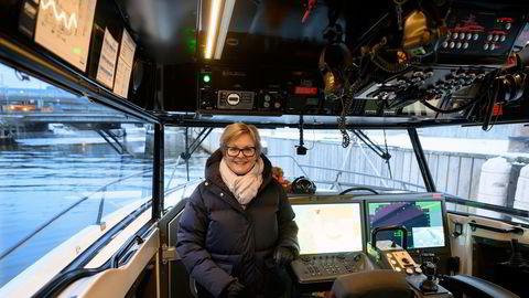 Generalsekretær i Redningsselskapet, Rikke Lind, er overveldet av gaven på 100 millioner kroner fra Margaret Boel Garmann.