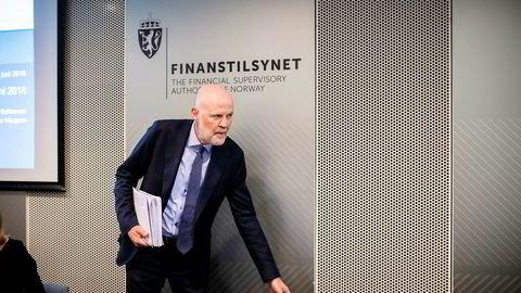 Finanstilsynets sjef Morten Baltzersen er bekymret for gjelden i husholdningene.