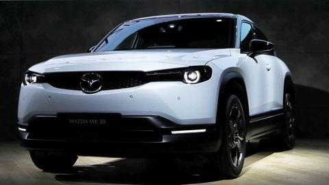 Mazdas første elbil skal hete MX-30. MX står for de nyskapende bilene til merket, mens 30 antyder størrelsen som er lik suven CX-30.