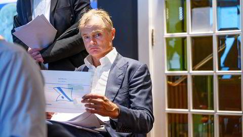 Investor Øystein Stray Spetalen var interessert i å kjøpe Kristinelundveien 16. En representant sendte flere tekstmeldinger til eiendomsmegler Jan Fredrik Bonde og viste interesse for huset.