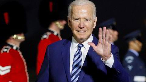 USAs president Joe Biden er ankommet Storbritannia og G7-møtet og drar til videre Natos toppmøte i Brussel mandag.