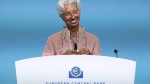 Den europeiske sentralbanken (ECB) og president Christine Lagarde har fått laget et interessant arbeidsnotat.