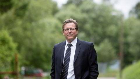 Øyvind Isaksen, toppsjef i Polight.