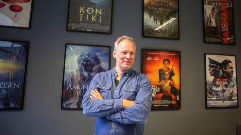 Espen Horn, daglig leder, produsent og medeier i produksjonsselskapet Motion Blur som styrker satsingen på spillefilm og tv-serier.