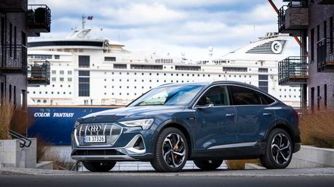 Audi e-tron er mest solgte bil her til lands så langt i år.