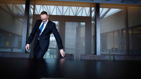 Styreleder Klaus-Anders Nysteen i Bank Norwegian. Den svenske banken Nordax har onsdag nådd akseptkravet på to tredjedeler av aksjene i Bank Norwegian.
