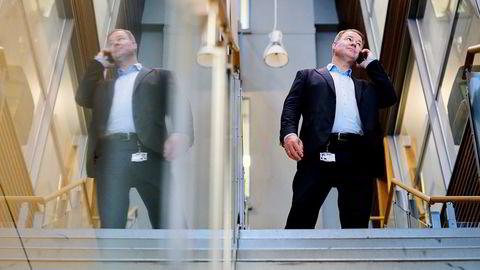 Trond Mellingsæter leder den norske filialen av Danske Bank, som nå står overfor en ryddejobb på flere fronter.