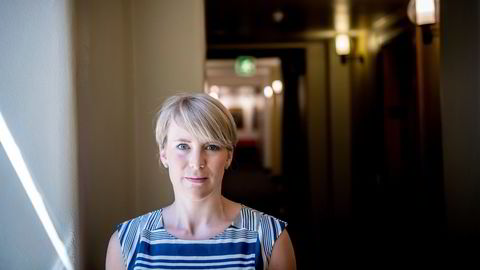 Kari Elisabeth Kaski (bildet) tror det blir bedre hvis staten får utpeke vinnere og tapere i det grønne skiftet, ifølge Venstre-leder Guri Melby.