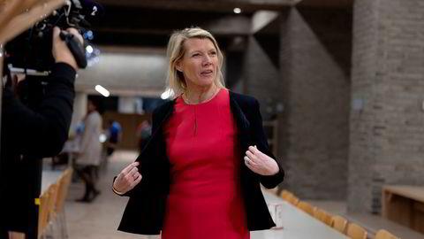 DNB-sjef Kjersti Braathen vil ta igjen de tapte renteinntektene.