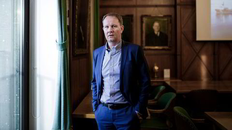 Lars Peder Solstad i Solstad Offshore ved en tidligere anledning.