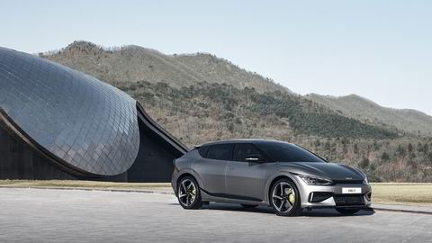 Kia EV6 GT er første elektriske Kia på den nye plattformen.