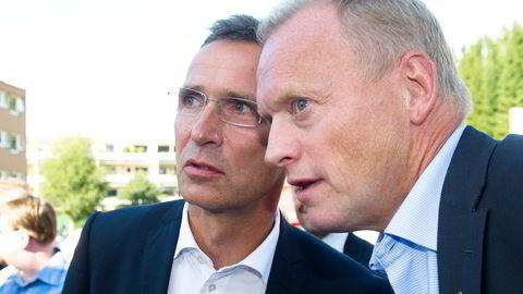 Partisekretær Raymond Johansen ville ha et oppgjør med Frp etter 22. juli. Jens Stoltenberg sa nei.