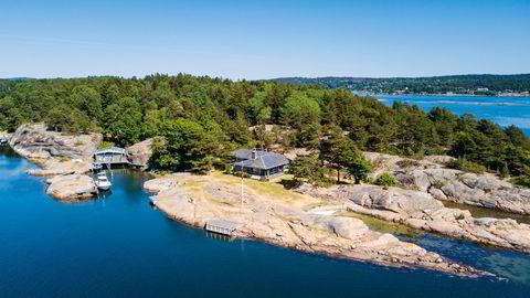 Denne eiendommen befinner i seg i den desidert dyreste hyttekommunen, Færder.