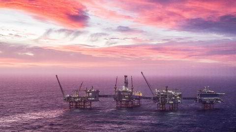 – Norge er blitt rik på oljen, og rikere enn mange tror, sier samfunnsøkonom Ragnar Torvik. Bildet viser Johan Sverdrup-feltet i Nordsjøen.