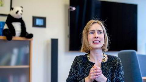 Næringsminister Iselin Nybø (V) erkjenner at det er uenighet mellom staten og Norwegian om når vilkårene for det evigvarende lånet utløp.