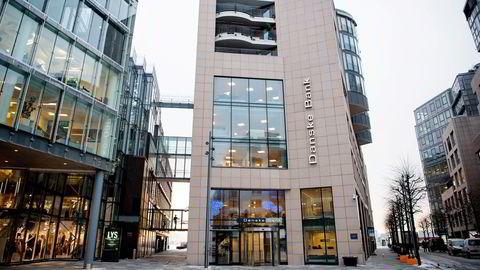 Danske Banks kontorer på Aker Brygge i Oslo.