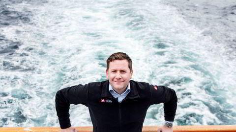 Daniel Skjeldam, administrerende direktør for Hurtigruten.