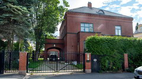 Mona Høiness prøver fortsatt å få solgt villaen i Eckersbergs g. 47.
