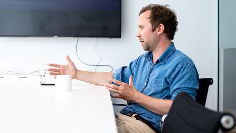 Andreas Mjelde er medgründer og sjef i Tillit. Oppstartsselskapet skal fjerne friksjon i transaksjoner mellom bedrifter, og fikk internasjonale investorer på kroken før de hadde et produkt.