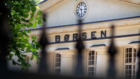 Hovedindeksen på Oslo Børs falt på månedens siste handelsdag.