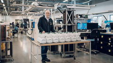 Veksten i gründermiljøene er en av årsakene til at Leif Petter Skaar hos elektronikkprodusenten Westcontrol på Tau nå skal hente inn 25 nye medarbeidere. Her produseres blant annet den norskutviklede roboten NoIsolation.