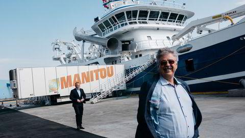 Seriegründer Jakob Hatteland var med å starte Autostore. Han anslår å ha tjent rundt fire milliarder kroner på selskapet, der Softbank nå kommer inn som ny storeier.