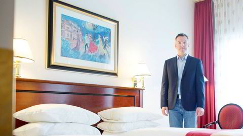Inntekten per hotellrom er i ferd med å bikke under 100 kroner natten i Oslo og over 13.000 rom står tomme hver eneste natt. – Fullstendig katastrofe, sier hotellrådgiveren Peter Wiederstrøm i Wiederstrøm Hotel Consulting. Bildet er fra 2014.