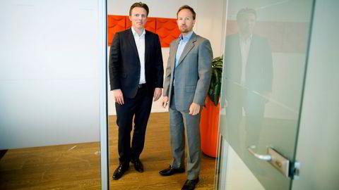 Anders Misund og Christian Sinding er partnere i EQT i Norge.