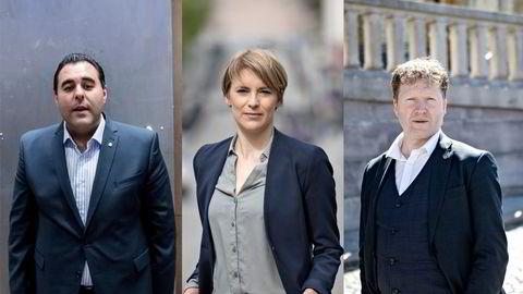 Masud Gharahkhani i Ap, Kari Elisabeth Kaski i SV og Sigbjørn Gjelsvik i Sp kritiserer Karantenenemndas behandling av sakene.