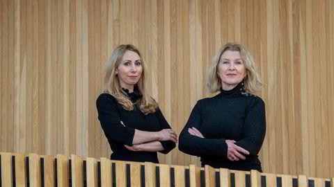 Anita Hoemsnes (til høyre) og Jorun S. Aartun gir ferske fondssparere en guide til riktig fondsvalg, basert på boken «Penga og livet – ta grep om egen økonomi».