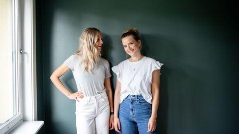 For mange er drømmen om egen leilighet sentralt i Oslo nettopp kun en drøm. Venneparet Ingrid Madland (tv) og Hannah Viste valgte derfor å kjøpe leilighet sammen.