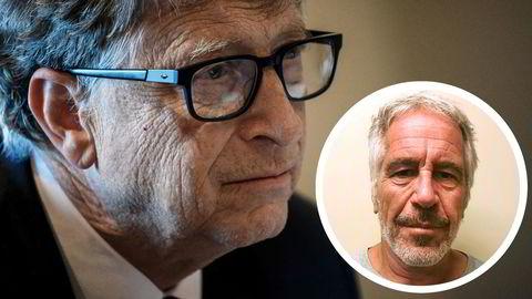 Jeffrey Epstein (innfelt) var med Bill Gates på et møte med IPI i Strasbourg i 2013. Senere samme år sendte Gates-stiftelsen flere millioner dollar til tankesmien.