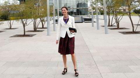 Etter å ha sluttet i Utenriksdepartementet, fikk Marianne Hagen en direktørstilling i Aker Solutions. I den nye jobben har hun hatt omfattende kontakt med departementet.