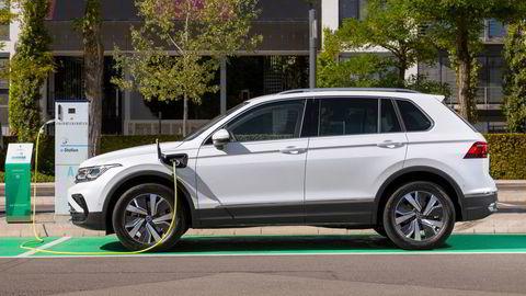 Volkswagen Tiguan kommer nå som eHybrid.