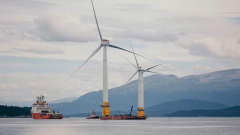 De fleste som jobber med energi er enig i at havvind vil bli en lønnsom næring, skriver Anniken Hauglie.