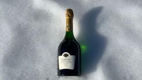 Comtes de Champagne Taittinger 2008 er endelig på Polet.