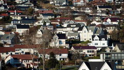 Det ligger an til rekord i antall boligomsetninger i koronaåret 2020: – Ingen scenarioer vi så på handlet om at det skulle bli et «all-time high-år», sier sjef for DNB Eiendom Terje Buraas.