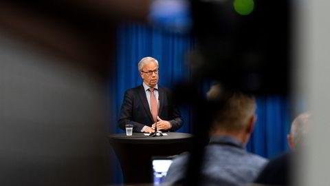 Norges Bank tolker ikke forventningsdokumentene. Norges Bank utarbeider forventningsdokumentene, skriver sentralbanksjef Øystein Olsen (bildet).