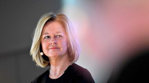 Toppsjef Allison Kirkby i Telia.