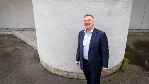 Kvinneandelen blant forvalterne i den norske spare- og pensjonsgiganten Storebrand er på 15,22 prosent. Avbildet er Storebrands konsernsjef Odd Arild Grefstad.