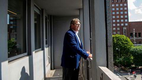 Jan Petter Sissener mener selskapet Energy Recovery driver med noe av det grønneste som finnes.