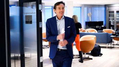 Mer lettet stemning for Robert Næss, investeringsdirektør i Nordea, tirsdag.
